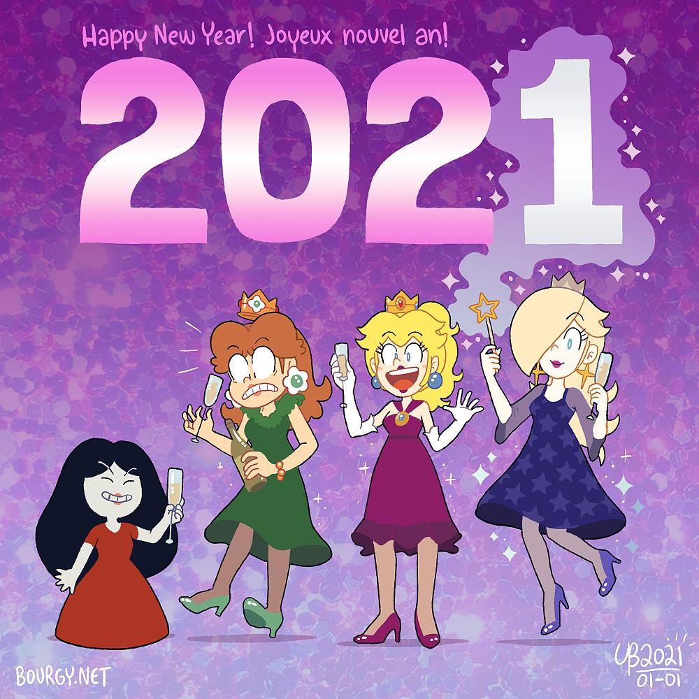 Interlude VI – Happy New Year 2021!